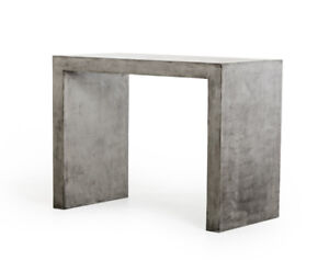 Concrete night table (Modern furniture)