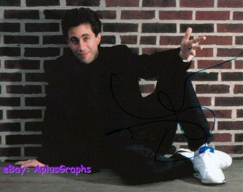 JERRY SEINFELD.. Iconic Stand Up Comic - SIGNED