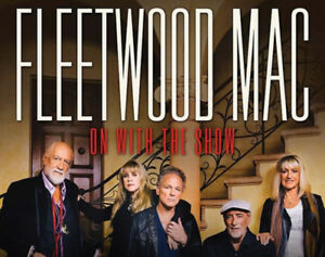 Fleetwood Mac Tickets - row 18, on the floor!