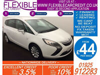2014 VAUXHALL ZAFIRA TOURER 1.4 T SE GOOD BAD CREDIT CAR FINANCE AVAILABLE
