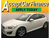 Volvo C30 2.0 ( 145bhp ) 2013MY R-Design FROM £41 PER WEEK !