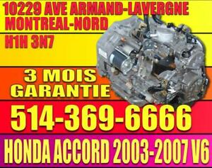 2003-2004-2005-2006-2007 Accord V6 Transmission Automatique BAYA