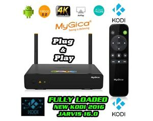MYGICA ATV1900  ATV 585 ULTRA HD ANDROID LOADED APPLE TV