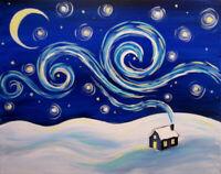 Entertain your family & friend w paint time Monday @ Matador