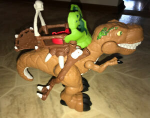 2014 Fisher Price Imaginext T-Rex Electronic Dinosaur Sounds