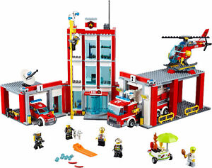 City LEGO 60110 Fire Station| 60079 Training Jet| 60134 Fun Park