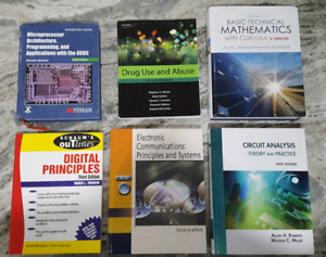 BOOKS! Electronics Engineering Great Condition St. Clair College