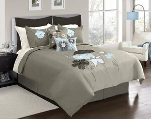 Brittany 6-Pc. Comforter Set - Queen, New