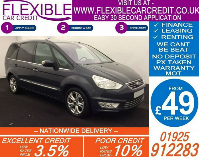 2012 ford galaxy 2 0 tdci titanium x good bad credit car for Ford motor credit financing