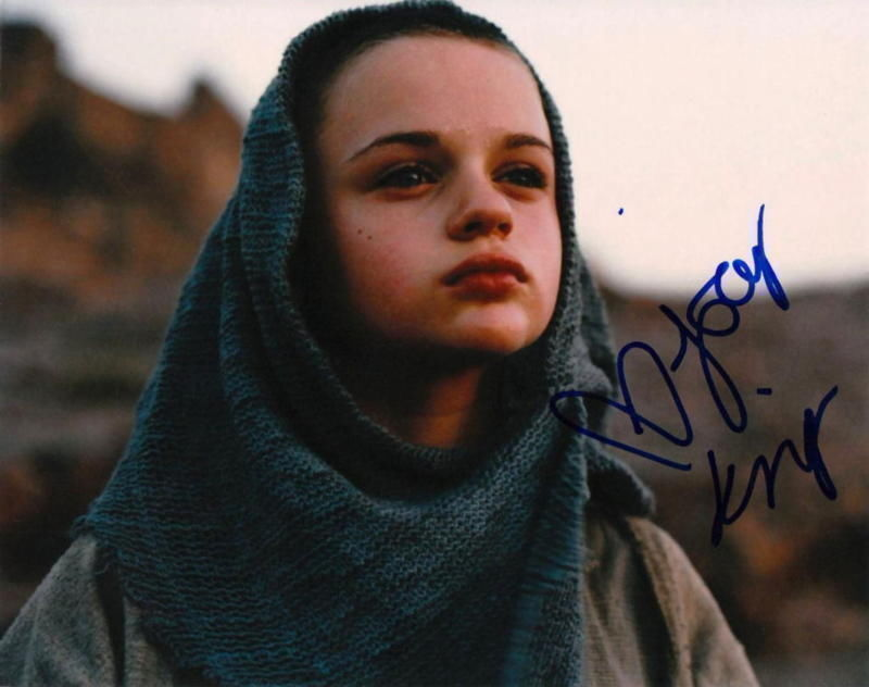 JOEY KING.. The Dark Knight Rises' Prison Child - SIGNED