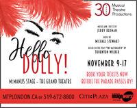 HELLO DOLLY! NOVEMBER 9-17,  MCMANUS STAGE THE GRAND THEA