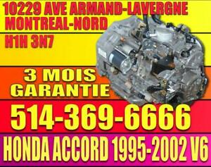 1998 1999 2000 2001 2002 Honda Accord V6 B7XA Transmission Automatique, Automatic Transmission 98 99 00 01 02 Accord V6