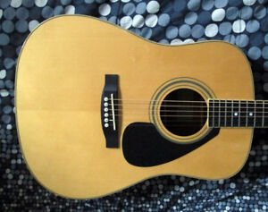 Yamaha FD02 acoustic guitar in mint condition