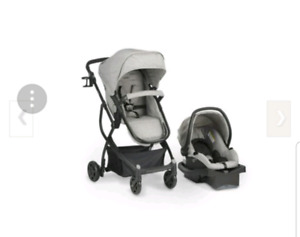Urbini omni plus stroler and car seat