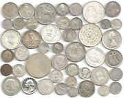 Old World Silver Coins