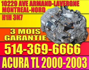 2000-2003 Acura 3.2TL Transmission B7WA Automatique installation