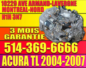 2004-2005- 2006-2007 ACURA 3.2 TL Transmission  Automatique