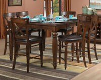 Pub Style Table and 6 chairs---Cobourg