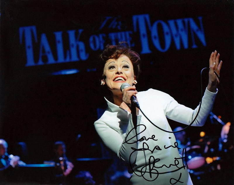 TRACIE BENNETT.. as Judy Garland (End of the Rainbow) SIGNED
