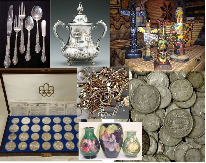 We Buy Antiques, Collectibles, Coins, Silver, Gold, Art