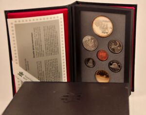 1992 Canada Double Dollar Proof Set of Coins