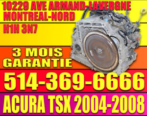 Transmission Automatique Acura TSX 2004 2005 2006 2007 2008