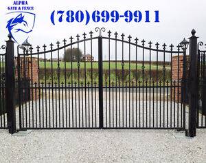 ALPHA GATE & FENCE - Driveway Gates - Chain Link - Free Quotes