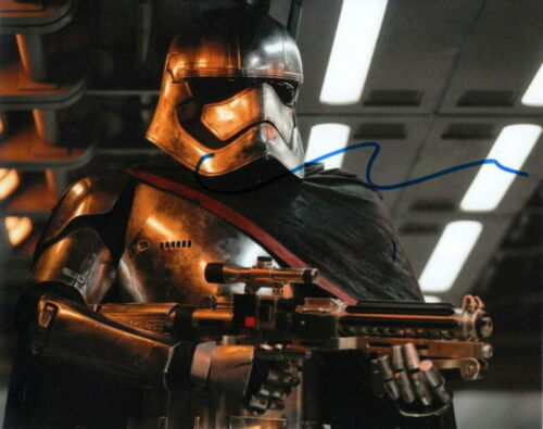 GWENDOLINE CHRISTIE.. Star Wars: The Force Awakens' Captain Phasma - SIGNED