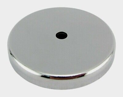 Master Magnetics .375 In. Ceramic Round Base Magnet Silver 65 Lb. Pull 1pk 07222
