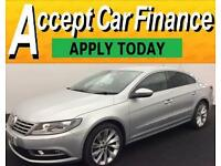 Volkswagen CC 2.0TDI ( 140ps ) BMT 2014MY GT FROM £65 PER WEEK!