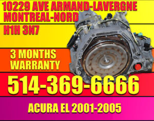 01-02-03-04-05 ACURA 1.7 EL TRANSMISSION AUTOMATIQUE BMXA