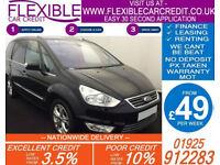 2012 FORD GALAXY 1.6 TDCI TITANIUM GOOD / BAD CREDIT CAR FINANCE AVAILABLE