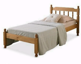 Small single bed and matress