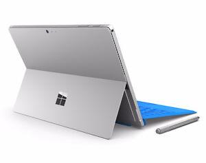 *New* Microsoft Surface Pro 4 256GB / i7/ 16gb Ram + Keyboard