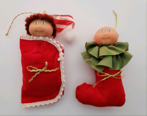 Vintage Cabbage Patch Kids Christmas Ornaments