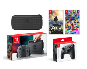 Nintendo Switch Bundle with Pro Controller & Games (NEW, SEALED)