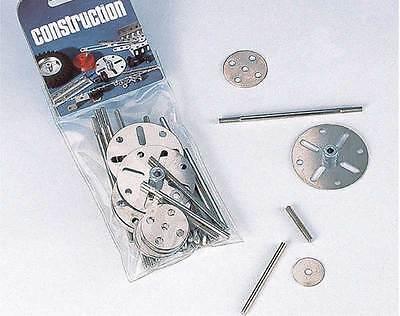 Eitech Metallbaukasten C104 Zubehör-Set Scheiben, Achsen, Gewindestifte
