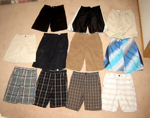 Boys Shorts, Tops, Jeans, Athletic Wear, Jackets - sz 12, 14, 16