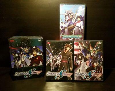 Lot of 3x Gundam 00 Double O Part 1 & Gundam Seed Destiny #7 & 12 Anime -