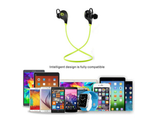 Bluetooth Stereo Wireless Earphones with Microphone