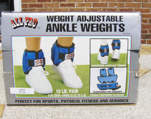 ALL PRO Ankle Weights. NEW – NEVER USED!