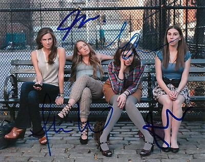 Girls   Lena Dunham  Zosia Manet  Jemima Kirke  And Allison Williams    Signed