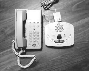 GE Speaker Phone and Answering machine