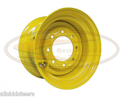 John Deere 9.75x16.5 Skid Steer Wheel Rim Fits Tire Size 12x16.5 Loader A-5vp04
