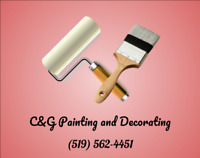 C&G PAINTING AND DECORATING - INTERIOR AND EXTERIOR