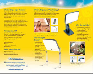 Day-Light Therapy Light
