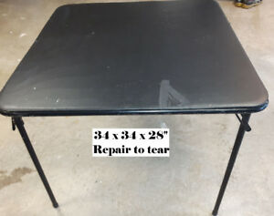 Great Folding Card Table