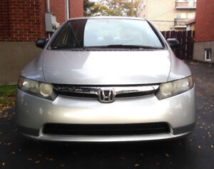Honda Civic 2007 automatic (73000 km) Only