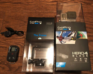 Brand New Sealed GoPro Hero4 Black Edition w/Extra Accessories