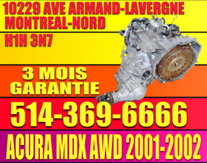 Transmission Automatique 2001 2002 Acura MDX AWD 4x4 3.5 V6